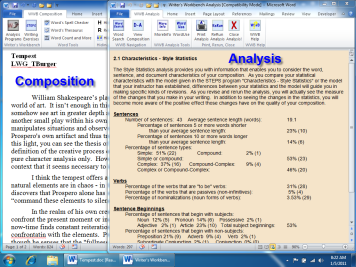Document and Analysis
